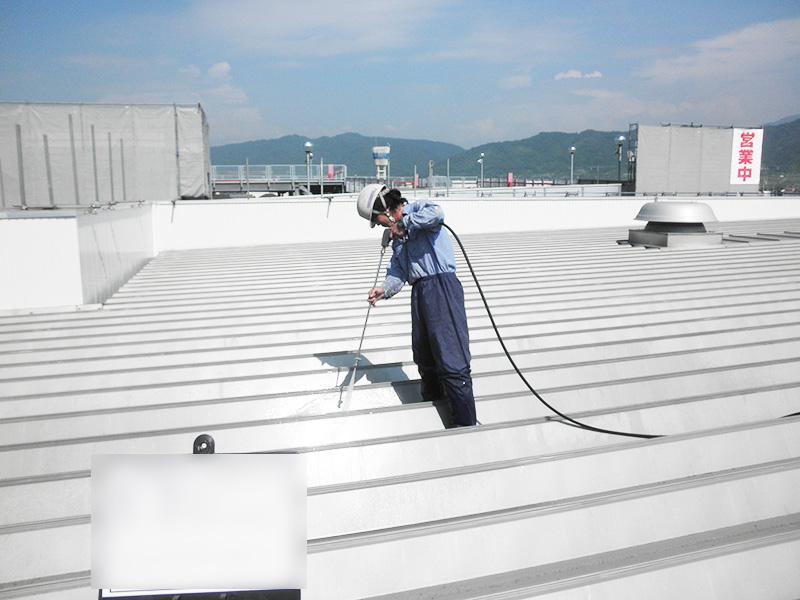 伊予市 屋根塗装工事